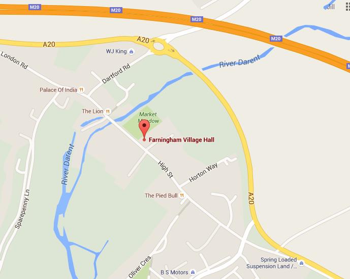 google map farningham