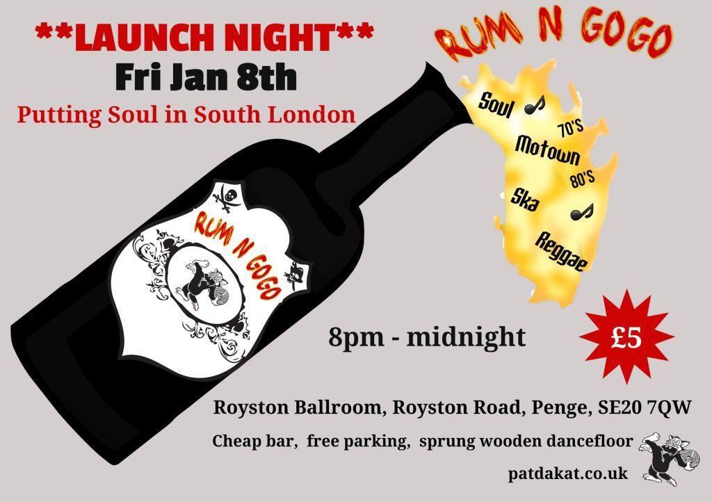 Rum n gogo South London Soul Club