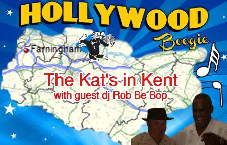 Rob Be Bop and Pat Da Kat jump jive, swing, R&B in Kent