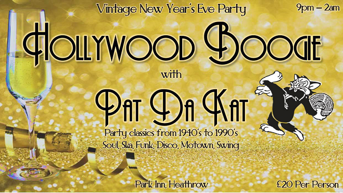 New Years Eve Vintage Dance Party Pat Da Kat