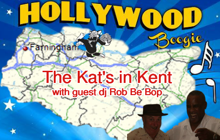 Rob Be Bop and Pat Da Kat jump jive, swing, R&B in Kent